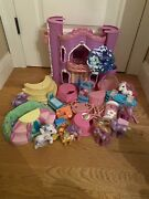 My Little Pony Celebration Castle Complete With Furniture Ponies And More
