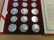 1980 Moscow Summer Olympics Russia Ussr 28 Coin Pf Set W/ Box And Coa 20.25 Oz