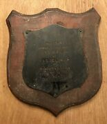 Vintage Wwii Midway 1944 Uss Sea Dog Uss Sea Dragon Submarine Competition Plaque