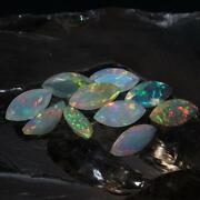 8x16 Mm Natural Ethiopian Opal Faceted - Fire Opal Cut Gemstone - Opal Marquise