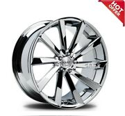 26 Koko Kuture Wheels Kapan Chrome Rims Fit 6 Lugs S6