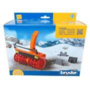 1/16 Snow Blower For Bruder Tractors Mb Actros And Man Trucks By Bruder 2349