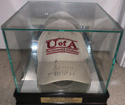 President Donald Trump Autographed Signed University Of Alabama Hat And Case