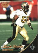 1999 Pacific Copper New Orleans Saints Football Card 254 Mark Fields/99