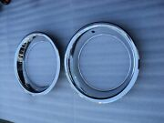 Nos Mopar Original 15 X 6-1/2 Rally Wheel Trim Rings