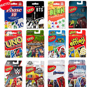 Mattel Uno Card Game Collection Authentic Brand New And Unopened Sealed 2020✅🥇