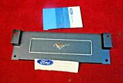 69 70 Nos Ford Mustang Clock Delete Plate For Standard Interior C9zz 6504428 A