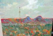 Susan Williams Three Rivers Ringo Rig Oil On Canvas Landscape Painting