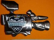 Vancouver 2010 Olympics Olympic Media Pin Nbc Camcorder 3d