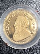 2000 Gold Proof South Afrian Krugerand 1/10 Of Ounce