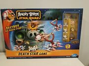 Angry Birds Star Wars Jenga Death Star Game Chewy Chewbacca Figure Complete