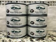 6 Cans Bar Harbor Premium All-natural Whole Maine Lobster Meat 6.5 Oz Can