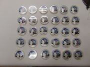 Challenge Coin Lot Of 31 Different Presidents Madison Cleveland Wilson Roosevelt