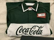 Kith Coca-cola Classic Rugby Green