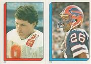 1986 Topps Football Stickers 1-285 You Pick