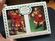 1993 Retro Nostalgic Coca-cola Twin Pack Limited Edition Playing Cards With Tin