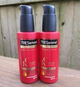 2 X Tresemme Keratin Smooth Color Smoothing Serum 4.1 Oz Ea Best Price Ever