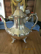 Antique Poole Sterling Silver Coffee Pot. Estate Find 1024 G