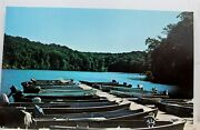 Iowa Ia New London Geode State Park Postcard Old Vintage Card View Standard Post