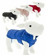 Dog Coat For Collar Padded Inside With Detachable Down Jacket With Snap Buttons