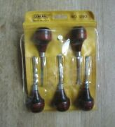 General Tools No. 1293 5-pc. Wood Carving Tool Set W/pouch - Used