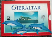 Gibraltar 2000 Fortress Mint Set Of 9 Coinswith Bimetal 2 Poundsrare