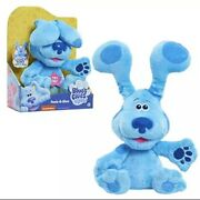 Blues Clues And You Peek-a-blue 10-inch Feature Plush - Blue