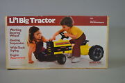 Marx Toys Riding Tractor Mint, Sealed
