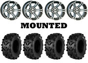 Kit 4 Kenda Bearclaw Xl K299a 25x10-12/25x12.5-12 On Itp Ss212 Machined Can
