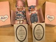 2 Pair Effanbee Patsy Babyette Twins Girl And Boy W/cute Clothes New In Box Coa