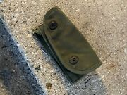 Ww2 Grenade Pouch / First Aid Pouch - Single Tier Rigger Modified Usgi Wwii