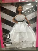 🎈barbie Signature Doll 60th Anniversary🎈with Doll Stand Black Label Collection