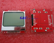 10pcs 8448 Lcd Module White Backlight Adapter Pcb For Nokia 5110 Arduino