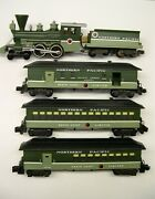 Custom American Flyer Franklin Old Time Northern Pacific Passenger Set