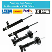 4x Shock Absorbers For Mercedes Benz C-class E-class C204 C207 Coupe 2009-2016
