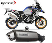 Exhaust Muffler Hpcorse 4track R Stainless Steel Bmw R 1250 Gs 2019 2020