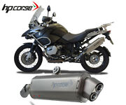 Exhaust Muffler Hpcorse 4track R Stainless Steel Bmw R 1200 Gs 2004 2009