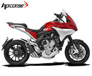 Exhaust Hpcorse Hydrotre Race Covercarb Steel Mv Agusta Turismo Veloce 20142016