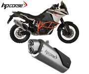 Exhaust Muffler Hpcorse 4track R Stainless Steel For Ktm 1190 Advent R 20132016