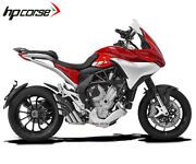 Exhaust Hpcorse Hydrotre Cover Carb Steel Mv Agusta Turismo Veloce 2014 2016