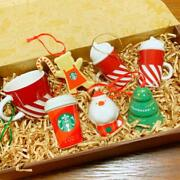 Starbucks Christmas Ornament Set Holiday By Fedex From Japan F/s