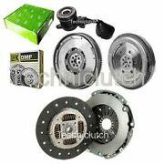 2 Part Clutch And Luk Dmf With Valeo Csc For Fiat Ducato Box 120 Multijet 2.3 D