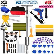 Paintless Dent Removal Puller Dent Lifter Tool Line Board Repair Hammer Kits