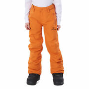 Rip Curl Olly Kids Pants Snow Pant - Burnt Orange All Sizes