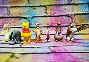 7 Disney Winnie The Pooh Tree Hanging Decorations Christmas Baubles Ornaments