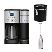 Cuisinart Coffee Center 12-cup Coffeemaker And Brewer With Canister Bundle