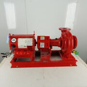 Bell And Gossett 1510bf9.5 10hp 1740rpm 230/460v 3x2-1/2 Centrifugal Package Pump