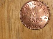 Montenegro 1906 Para Coin Unc Uncirculated Nice Scarce One Year Type