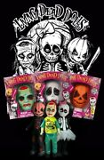 Living Dead Dolls Retro Halloween Sets. Mask With Shirt And Doll Lot 0f 3 2010,xl