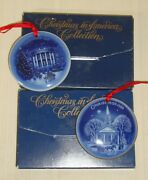Bing And Grondahl 1987 Christmas In America The Capitol Building Ornament And 1989